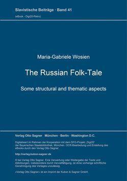 The Russian Folk-Tale von Wosien,  Maria-Gabriele