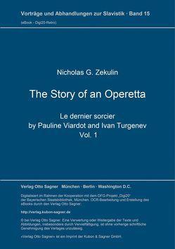 The Story of an Operetta von Žekulin,  Nicholas G.
