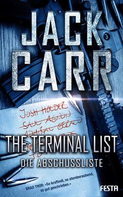 THE TERMINAL LIST – Die Abschussliste von Carr,  Jack