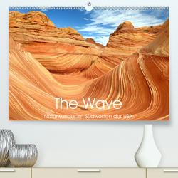 The Wave: Naturwunder im Südwesten der USA (Premium, hochwertiger DIN A2 Wandkalender 2020, Kunstdruck in Hochglanz) von Weiß,  Elmar