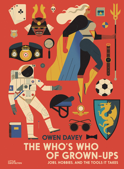 The Who's Who of Grown-Ups von Davey,  Owen, Klanten,  Robert, Niebius,  Maria-Elisabeth, Stuhler,  Eliora