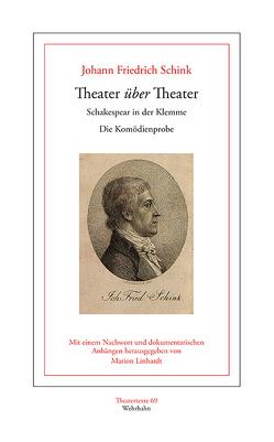 Theater über Theater von Linhardt,  Marion, Schink,  Johann Friedrich