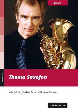 Thema Saxofon von Habla,  Bernhard, Härtel,  Klaus