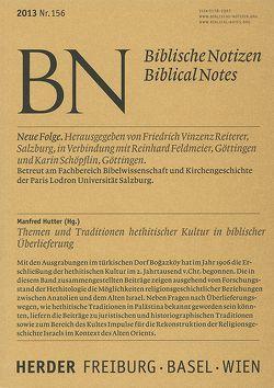 Themen und Tradition hethitischer Kultur in biblischer Überlieferung von Hutter,  Manfred