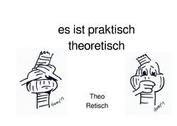 Theo Retisch / es ist praktisch theoretisch von Kretzschmar,  Birgit, Meyer,  Harry