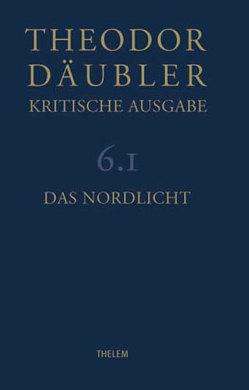 Theodor Däubler – Kritische Ausgabe / Das Nordlicht von Chiarini,  Paolo, Däubler,  Theodor, Nienhaus,  Stefan, Schmitz,  Walter, Werner,  Dieter