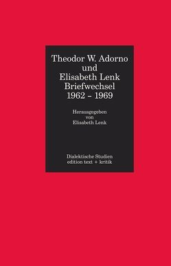 Theodor W. Adorno und Elisabeth Lenk von Lenk,  Elisabeth, Tiedemann,  Rolf
