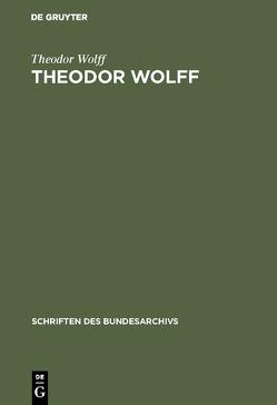 Theodor Wolff von Bröhan,  Margrit, Wolff,  Theodor