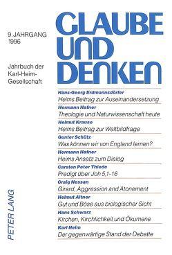 Theologie, Physik und Philosophie im Weltbild Karl Heims von Krause,  Helmut