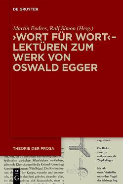 Theorie der Prosa / Wort für Wort von Endreß,  Martin, Simon,  Ralf