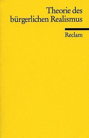 Theorie des bürgerlichen Realismus von Plumpe,  Gerhard