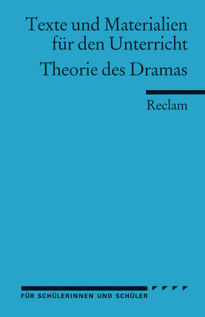Theorie des Dramas von Staehle,  Ulrich