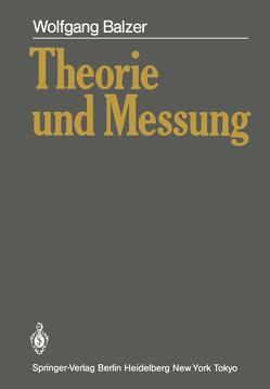 Theorie und Messung von Balzer,  Wolfgang
