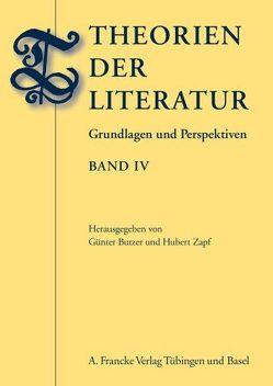 Theorien der Literatur, Band IV von Butzer,  Guenter, Zapf,  Hubert