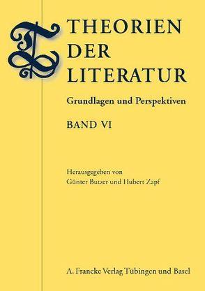 Theorien der Literatur von Butzer,  Günter, Zapf,  Hubert