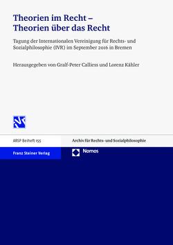 Theorien im Recht – Theorien über das Recht von Calliess,  Gralf-Peter, Kähler,  Lorenz