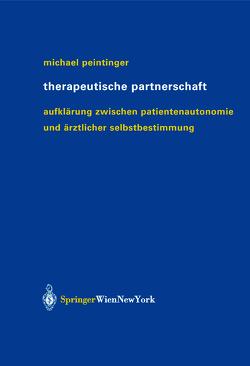 Therapeutische Partnerschaft von Peintinger,  Michael