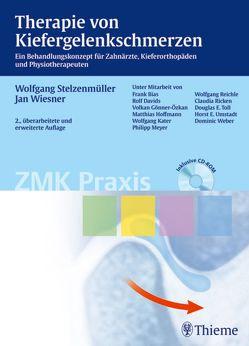 Therapie von Kiefergelenkschmerzen von Stelzenmüller,  Wolfgang, Wiesner,  Jan