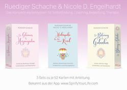 Therapiekarten-Set aus 3 x 52 Karten mit Anleitung von Engelhardt,  Nicole Diana, Schache,  Ruediger