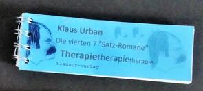 Therapietherapietherapie von Urban,  Klaus