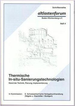 Thermische In-situ-Sanierungstechnologien
