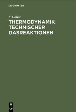 Thermodynamik technischer Gasreaktionen von Haber,  F.