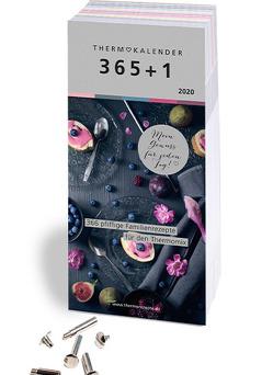 Thermokalender 365+1: Der Abreiss-Rezeptkalender 2020 für den Thermomix® I TM5® I TM31 I TM6 mit 366 Rezepten, inkl. Buchschrauben zum Sammeln der Lieblingsrezepte von Fietze,  Bianka