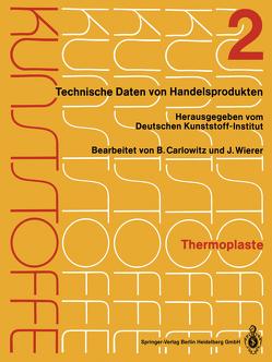 Thermoplaste von Carlowitz,  Bodo, Wierer,  J