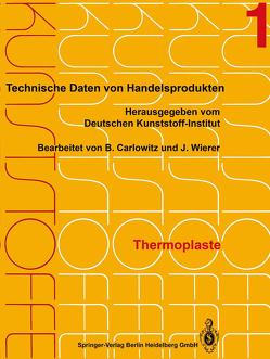 Thermoplaste von Carlowitz,  Bodo, Wierer,  Jutta