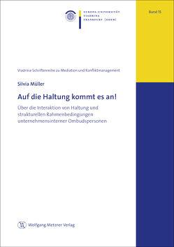 These: Auf die Haltung kommt es an! von Müller,  Silvia