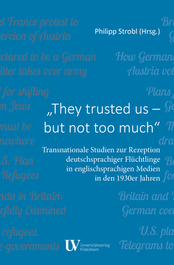 They trusted us – but not too much von Philipp,  Strobl