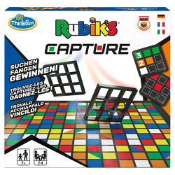 ThinkFun – 76463 – Rubik's Capture – das rasante Farben- und Muster-Suchspiel für 4 Personen ab 7 Jahren. Ein schnelles Spiel für Jungen und Mädchen.