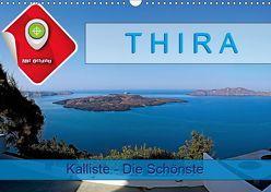 Thira, Kalliste – Die Schönste (Wandkalender 2019 DIN A3 quer) von Plesky,  Roman