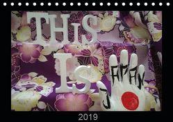 This is Japan (Tischkalender 2019 DIN A5 quer) von mano,  La