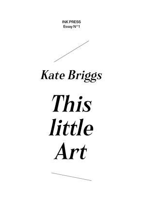 This Little Art von Briggs,  Kate, Voβ,  Sabine