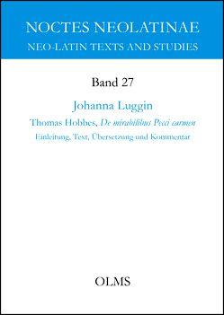 Thomas Hobbes, De mirabilibus Pecci carmen von Luggin,  Johanna