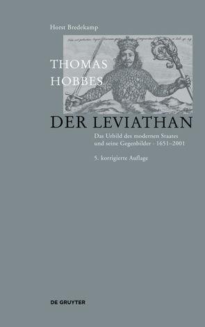Thomas Hobbes – Der Leviathan von Bredekamp,  Horst