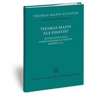 Thomas Mann als Essayist von Linder,  Jutta, Sprecher,  Thomas