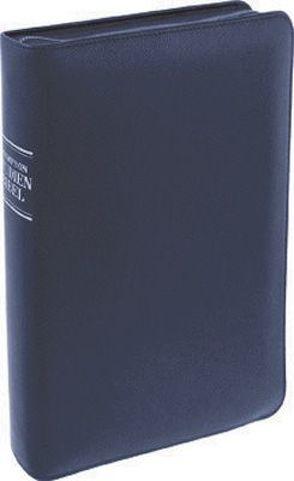 Thompson Studienbibel in Lederhülle, blau