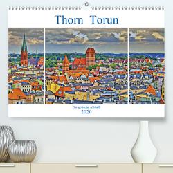 Thorn Torun – Die gotische Altstadt (Premium, hochwertiger DIN A2 Wandkalender 2020, Kunstdruck in Hochglanz) von Michalzik,  Paul