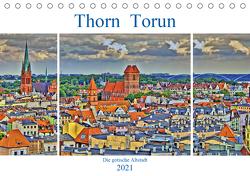 Thorn Torun – Die gotische Altstadt (Tischkalender 2021 DIN A5 quer) von Michalzik,  Paul