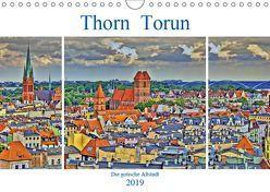 Thorn Torun – Die gotische Altstadt (Wandkalender 2019 DIN A4 quer) von Michalzik,  Paul