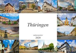 Thüringen Impressionen (Wandkalender 2020 DIN A2 quer) von Meutzner,  Dirk