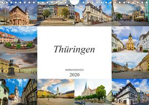 Thüringen Impressionen (Wandkalender 2020 DIN A4 quer) von Meutzner,  Dirk