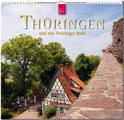 Thüringen und der Thüringer Wald von Herzig,  Tina und Horst