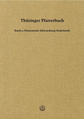 Thüringer Pfarrerbuch von Thüringische Kirchengeschichte,  Gesellschaft für