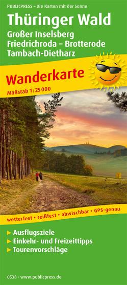 Thüringer Wald, Großer Inselsberg – Friedrichroda – Brotterode – Tambach-Dietharz