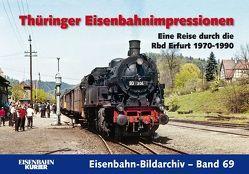Thüringer Eisenbahnimpressionen von Frister,  Thomas