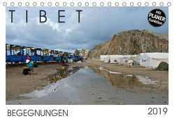 Tibet – Begegnungen (Tischkalender 2019 DIN A5 quer) von Rechberger,  Gabriele