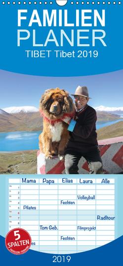 Tibet – Familienplaner hoch (Wandkalender 2019 , 21 cm x 45 cm, hoch) von Antje Neßler,  Fotodesign